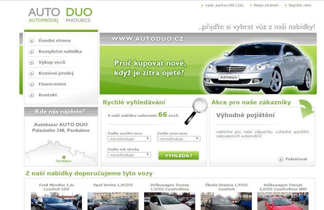 Autobazar Auto Duo Pardubice