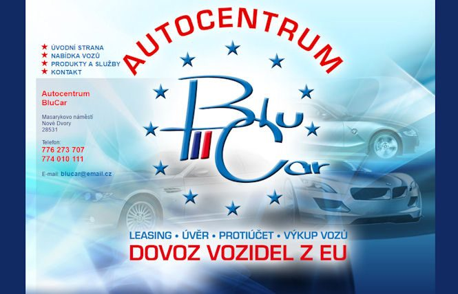 Autobazar Bluecars