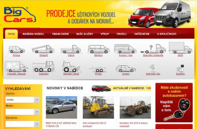 Autobazar Big Cars Ostrava