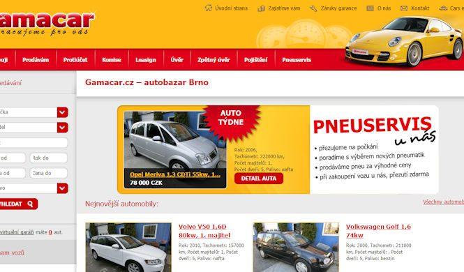 Autobazar Gamacar Brno - recenze hodnocení