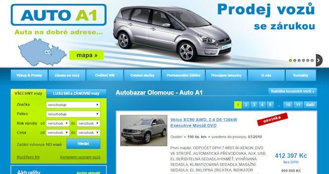 Autobazar A1 Olomouc