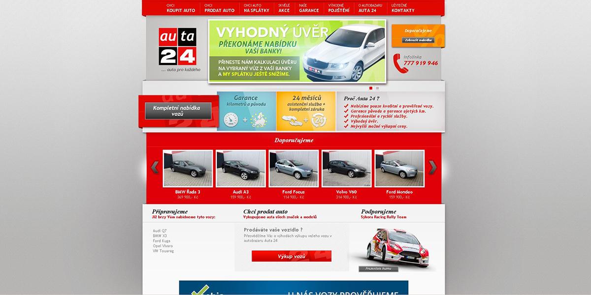 Auta 24 autobazar Liberec