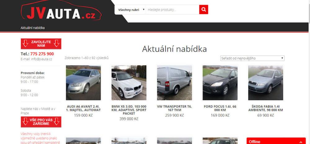 JV Auta autobazar - recenze hodnocení