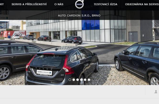 Auto Cardion Brno- autobazar Volvo