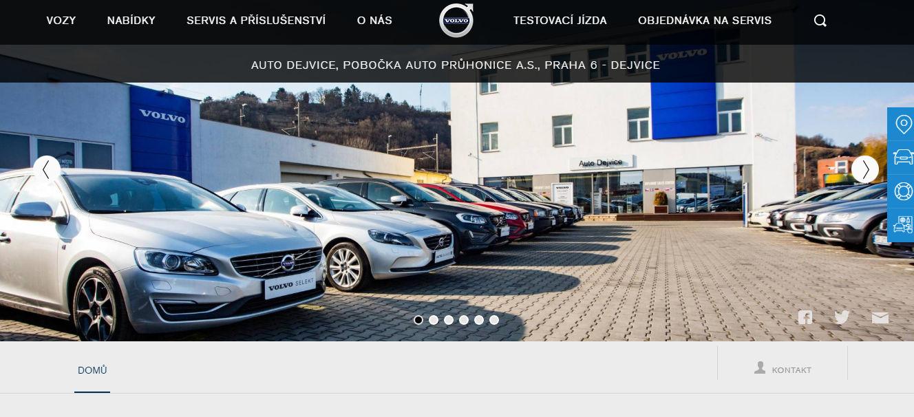 Autobazar Auto Dejvice - Volvo