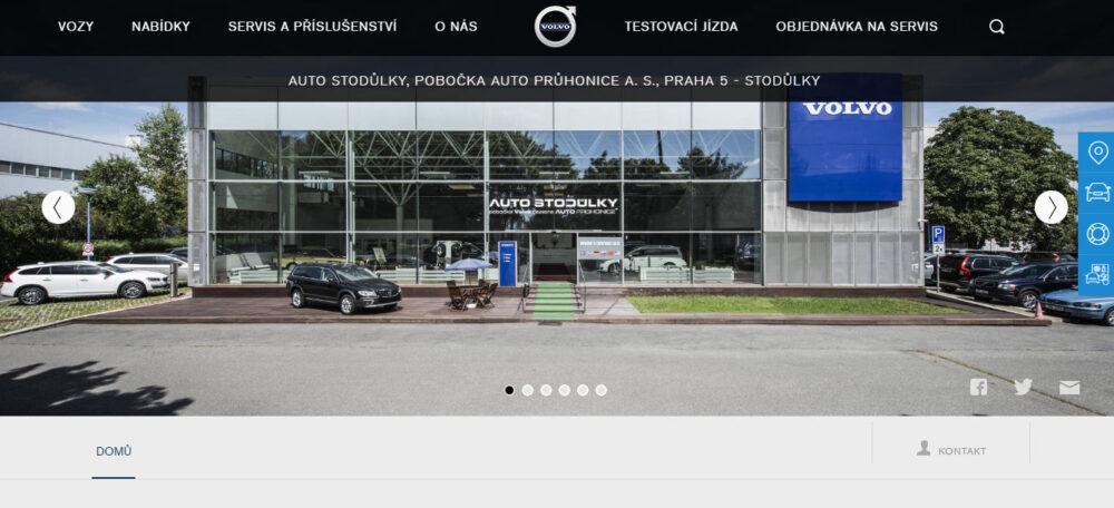 Autobazar Auto Stodůlky Volvo