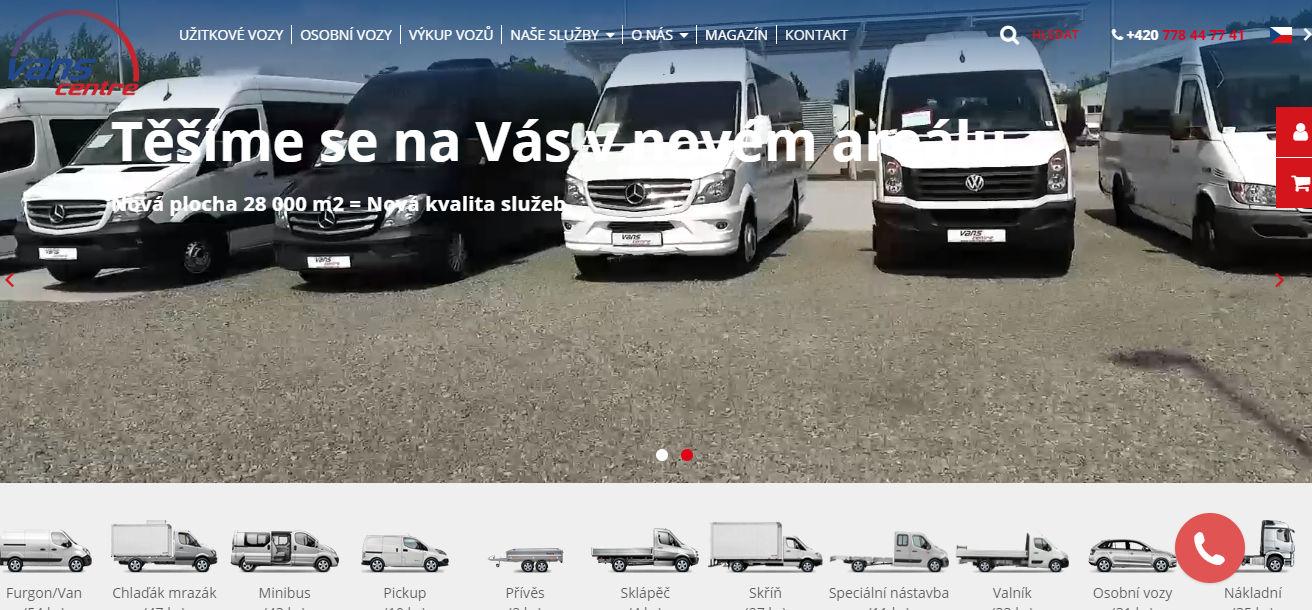 Vans Centre s.r.o. - autobazar