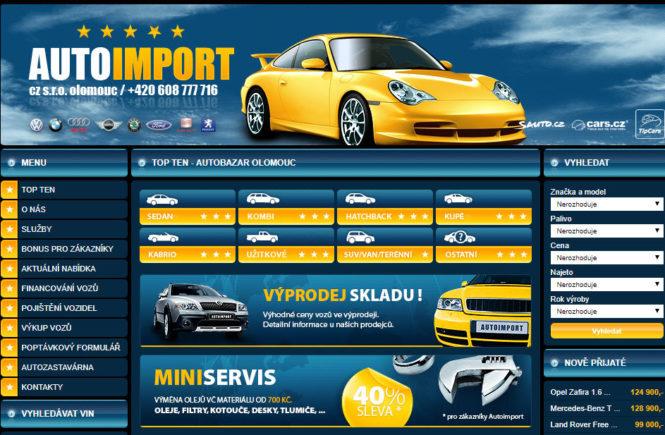 Recenze autobazaru Autoimport Olomouc