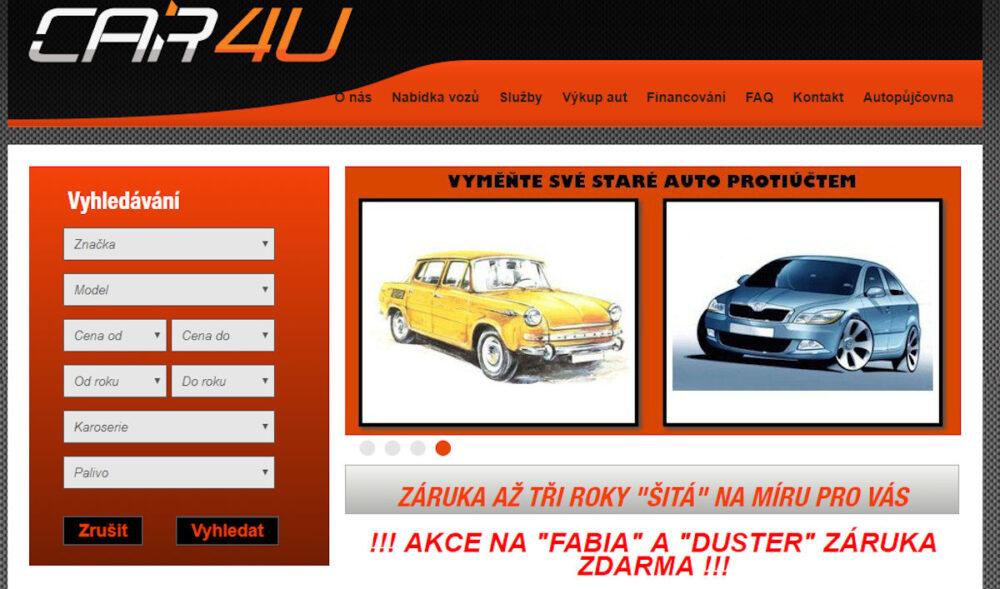 Autobazar Car4u - recenze hodnocení zkušenosti